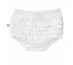 Marquise White Ruffle Bloomers