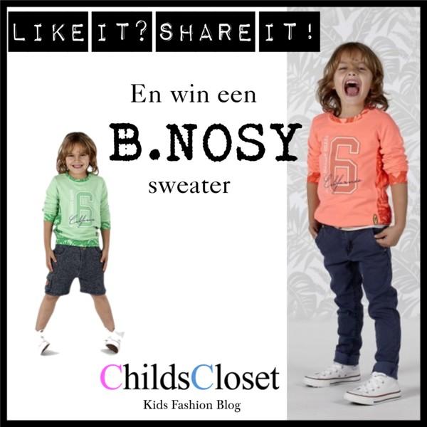 Een stoere B.NOSY sweater winnen