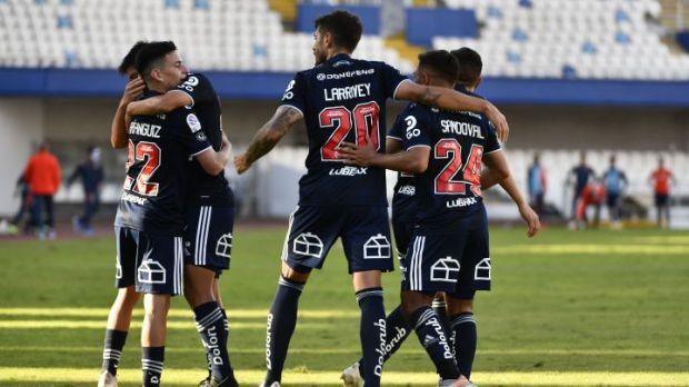 La U celebra ante Antofagasta con un doblete de Larrivey - AS Chile