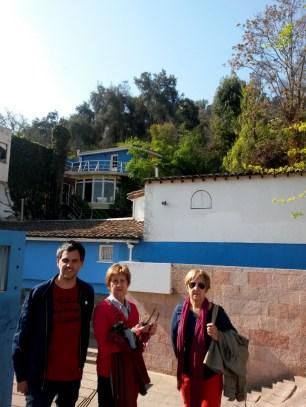 En la Chascona, casa de Pablo Neruda
