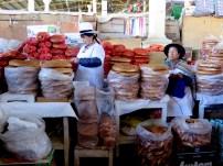 Panaderas en el mercado
