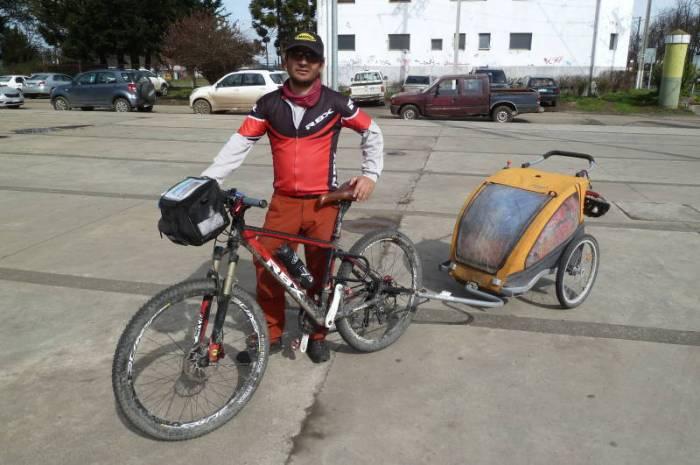 Raid ciclista Punta Arenas-Arica