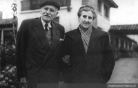 Diego Duble y su esposa Mercedes García-Huidobro Fernández