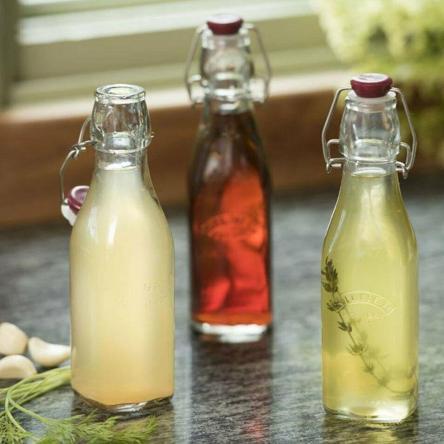 Botella Tapa Roja con Cierre Clip 0,25 Lt