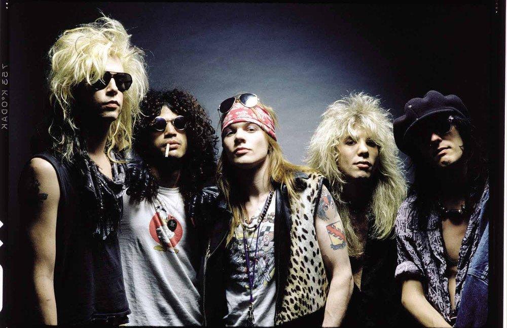 Guns N' Roses y THE Strokes VUELVEN A CHILE para Lolapalooza 2020