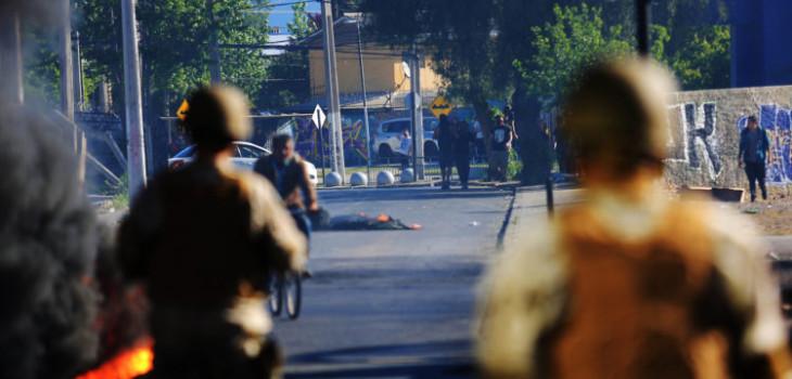 Murió hombre baleado en su rostro por comerciante en medio de saqueos en Puente Alto