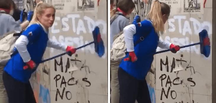 El drama de mujer convertida en MEME por limpiar una pared, sufre ESCLEROSIS MÚLTIPLE