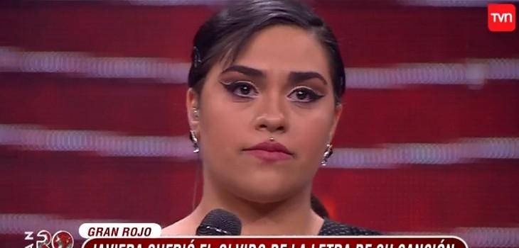 «Es una falta de respeto»: error de Javiera Flores en el 'Gran Rojo' desató dura crítica del jurado