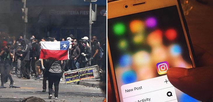 La razón por la que Instagram está censurando contenido sobre manifestaciones en Santiago
