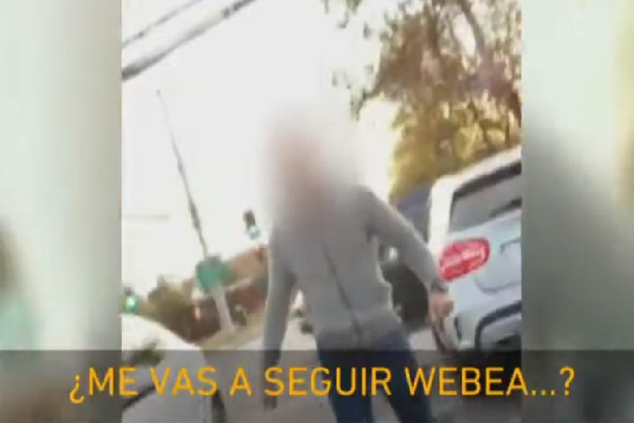 """""""¿Me vas a seguir h…?"""": Conductor sufrió brutal agresión en Las Condes"""
