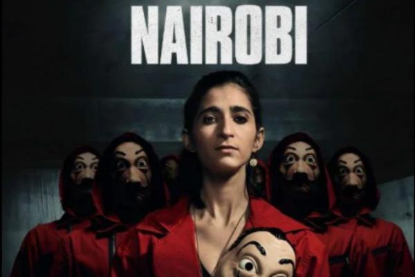 """Nairobi de """"La Casa de Papel"""" comparte fuerte mensaje sobre el estallido social chileno"""