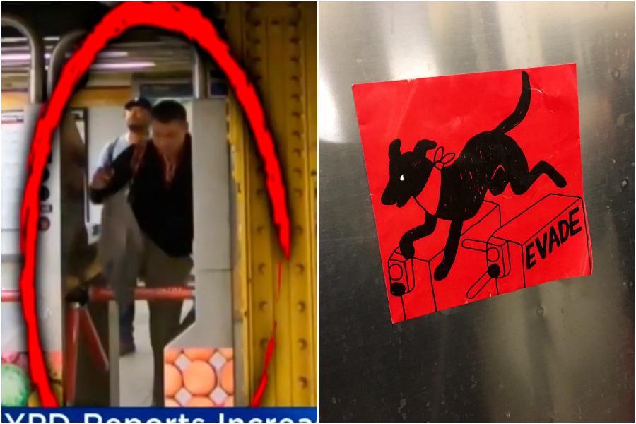 Con influencia chilena: Jóvenes realizan evasión masiva en metro de Nueva York