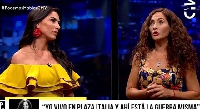 Mey Santamaría y Alejandra Herrera recibieron duras críticas tras justificar presencia militar