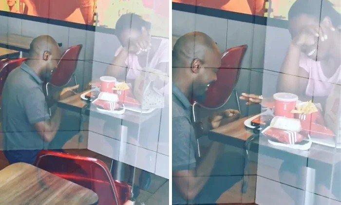 Periodista intentó HUMILLAR a pareja por pedir matrimonio en KFC resultó todo lo contrario y se LLENO DE REGALOS