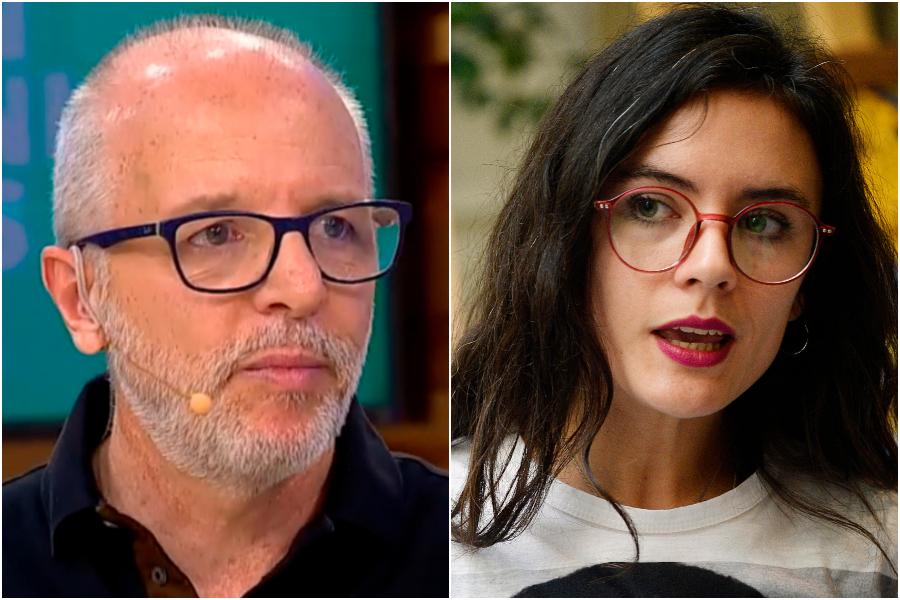 """""""Y luego vendrá el voto de las guaguas…"""": Alberto Plaza repasó a Camila Vallejo por edad para sufragar en plebiscito"""