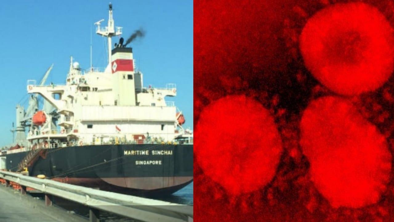 Activan PROTOCOLO en Puerto de Coronel por llegada de barco desde CHINA