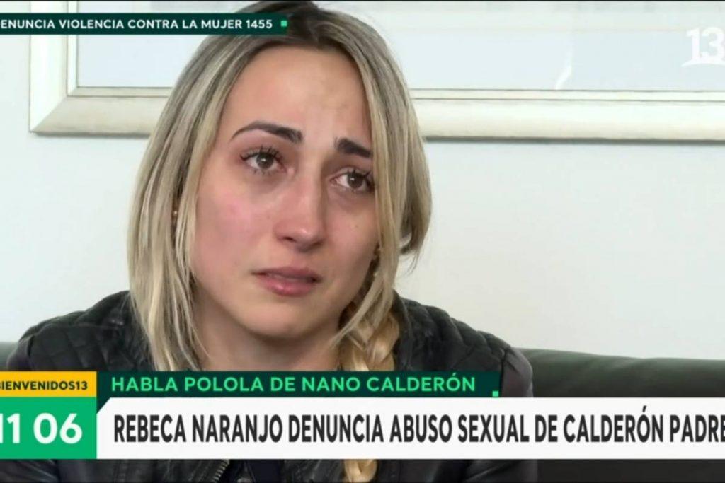 Polola de NANO Calderón DESISTIÓ de denuncia por ABUSO SEXUAL contra ex SUEGRO