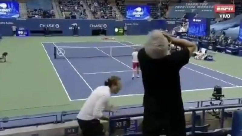¡SE VOLVIÓ LOCO!: el eufórico festejo de Massú tras ver a Thiem coronándose en el US Open
