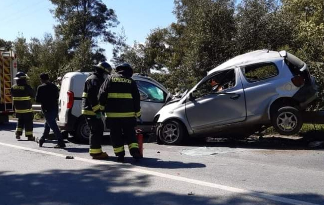 UN FALLECIDO deja colision FRONTAL en la Ruta de la Madera
