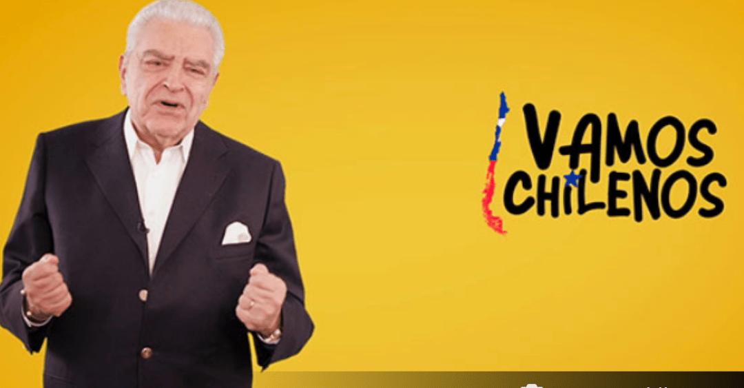 Conoce TODOS LOS ARTISTAS que participarán de la campaña VAMOS CHILENOS que comienza HOY