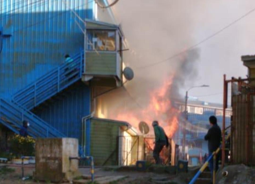 Desconocidos INCENDIAN departamento en VENGANZA por asesinato ocurrido en Talcahuano