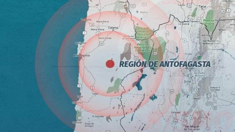 AHORA!! Sismo de magnitud 6.3 se registra en el norte del país