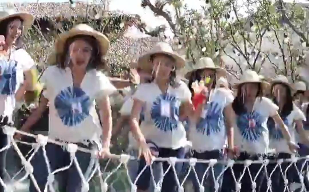 Puente COLAPSA con participantes a MISS TAILANDIA ENCIMA: Mujeres CAYERON a un estanque