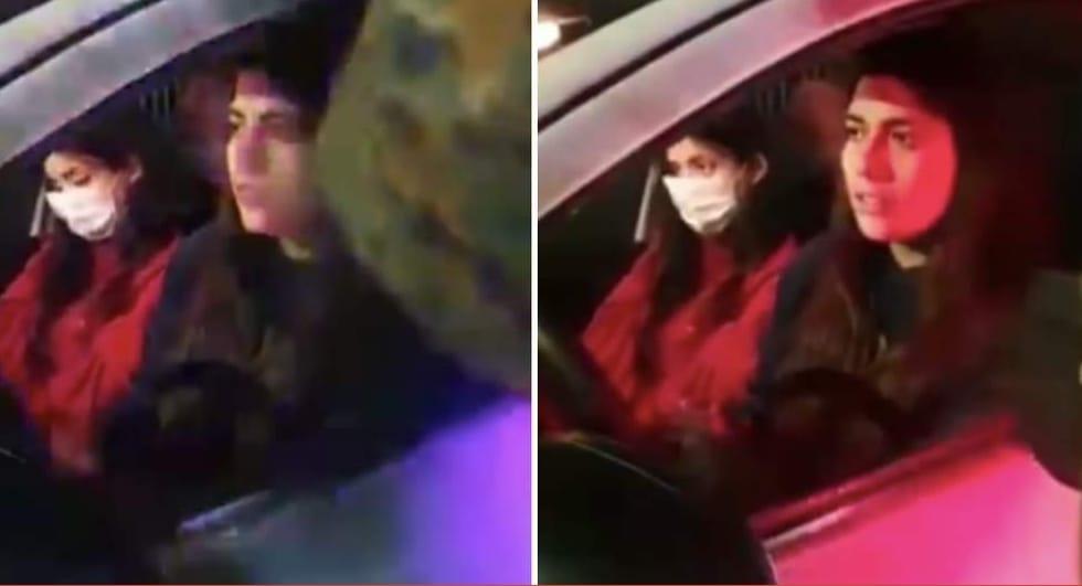 «No por favor» Video muestra a jovenes ARRANCANDO de fiscalizacion y CHOCANDO a otro vehículo en su huida
