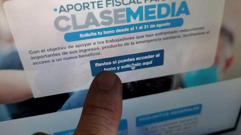 SII reporta 572.000 Bonos Clase Media ACEPTADAS en primeras 2 horas