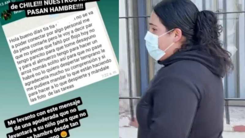 [VIDEO] Excusó a su hijo de no asistir a clases por NO TENER QUE COMER: El mensaje de una mamá que CONMOCIONÓ INTERNET