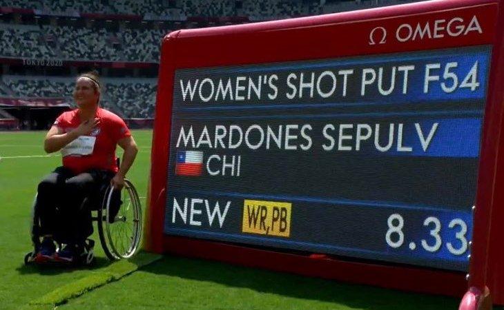 ÉPICO! Francisca Mardones logra MEDALLA DE ORO y record MUNDIAL en juegos Paralímpicos