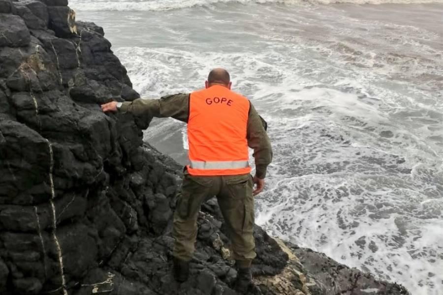 Cobquecura: revelan desesperada medida que tomó joven rescatado desde el mar