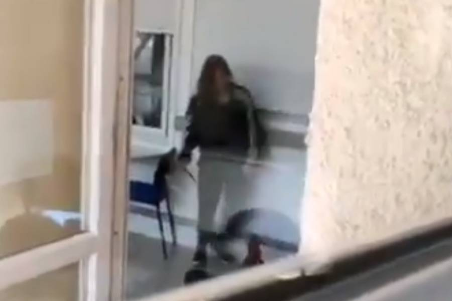 (VIDEO) Terror en Coltauco: mujer apuñaló a tres hombres al interior de centro de salud