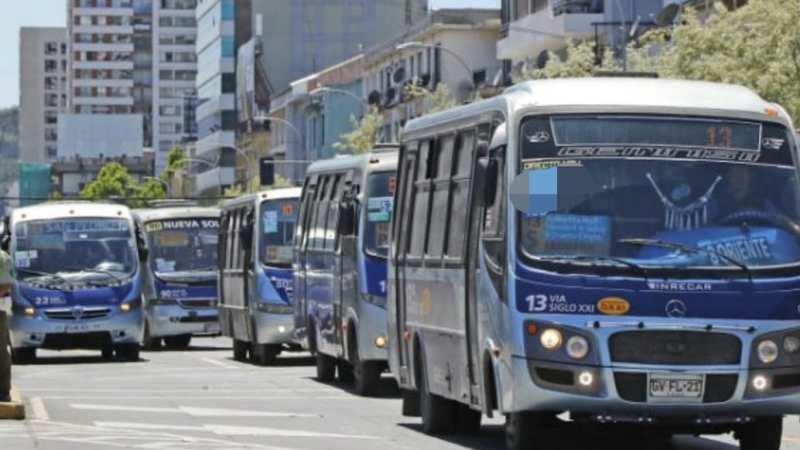 Hasta que hora funcionará HOY la locomoción colectiva en Concepción?