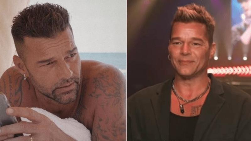 """(VIDEO) La verdad tras el impactante """"cambio de rostro"""" de Ricky Martin: cantante salió a explicarlo"""