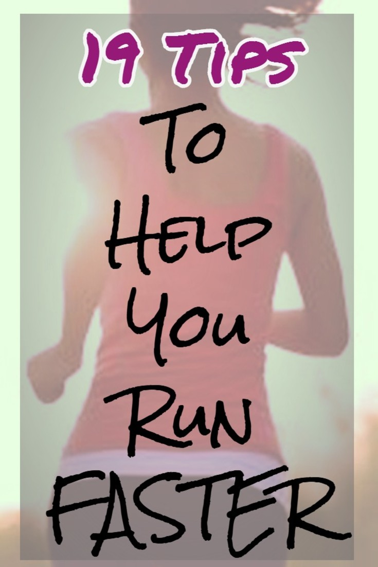 How To Run FASTER - 19 helpful tips from http://ChiliGuy.com