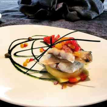 sea bass filet