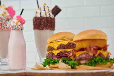 Steak Burgers + Shakes Array