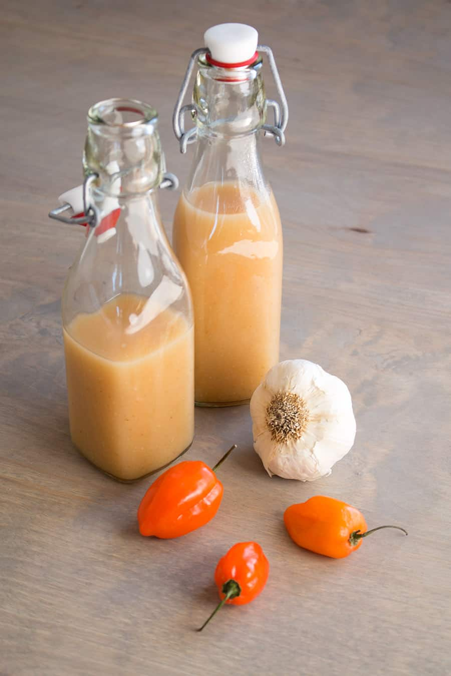 Garlic-Habanero Hot Sauce