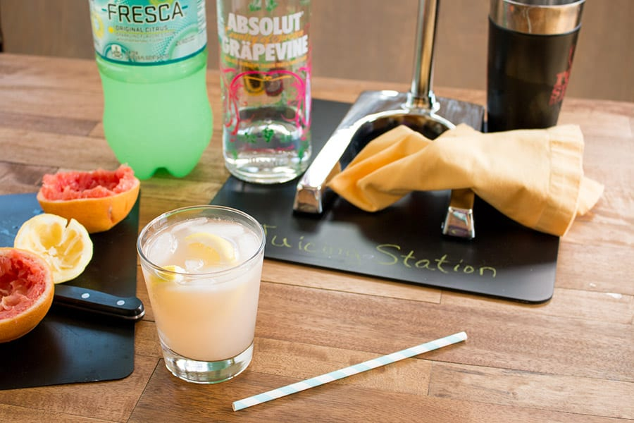 Absolut Grapefruit Vodka Cocktail Recipe