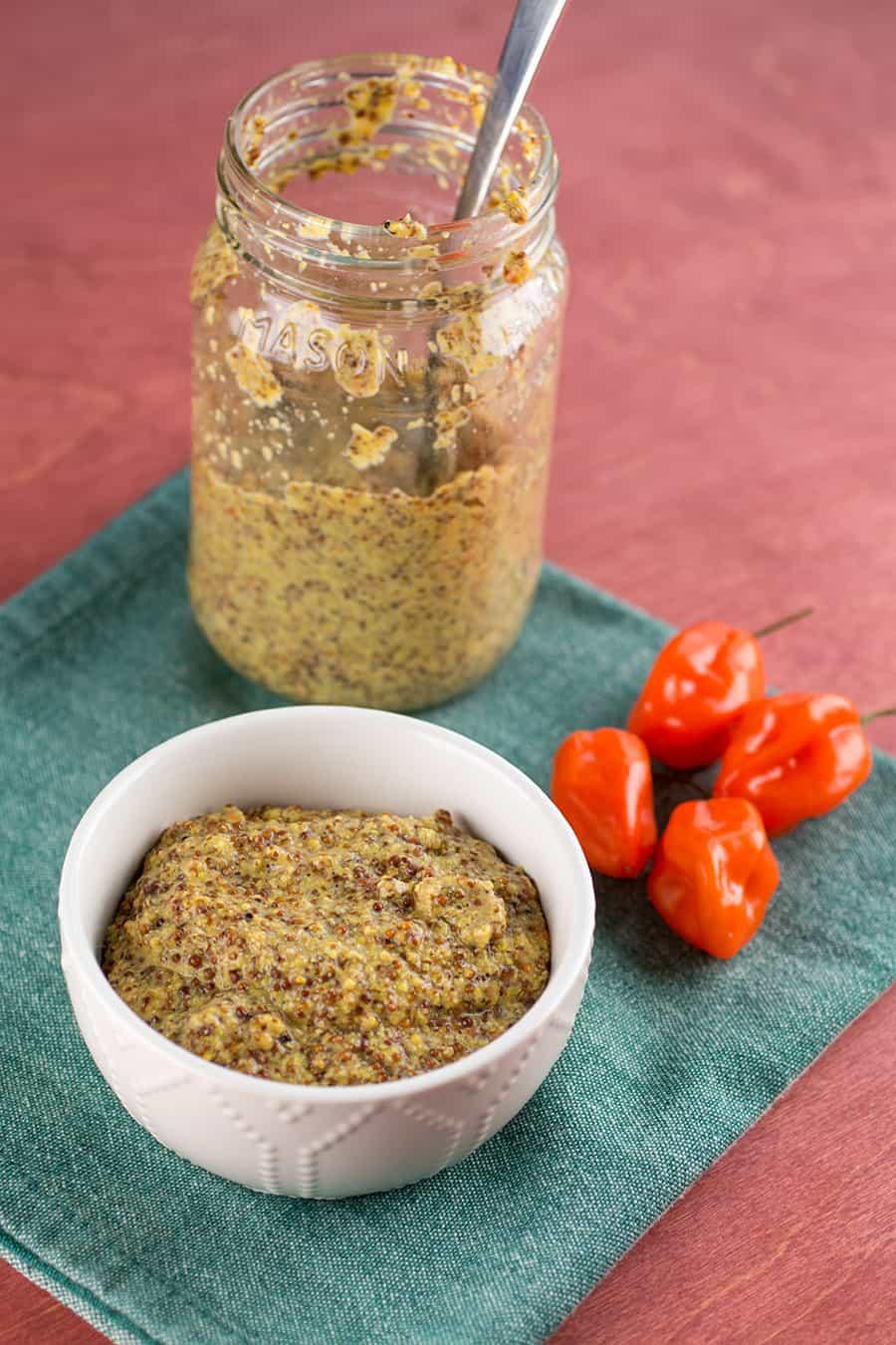Homemade Spicy Mustard