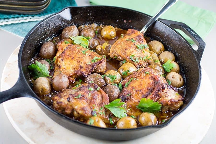 Cajun Baked Chicken Thighs - Recipe