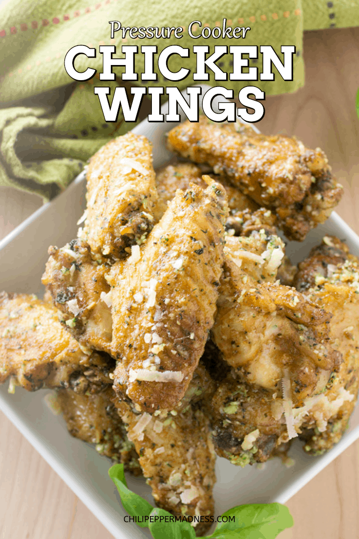 Pressure Cooker Chicken Wings