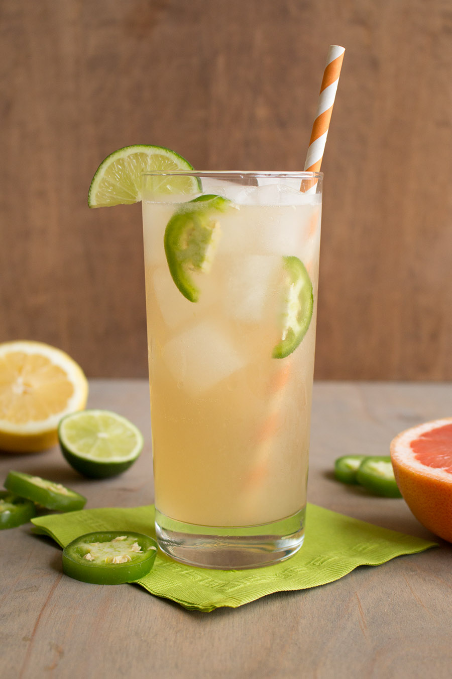 Spicy Citrus Mock Moscow Mule