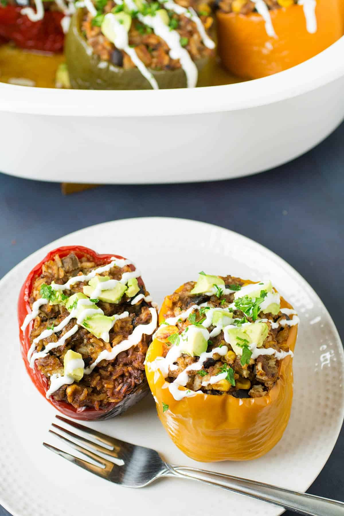 Crockpot Stuffed Peppers Recipe