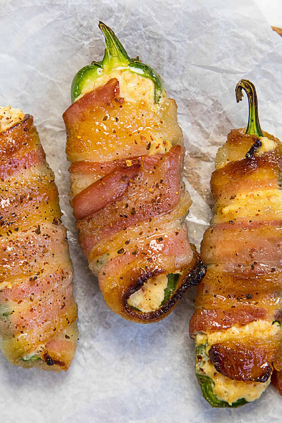 Candied Bacon Jalapeno Poppers - Recipe