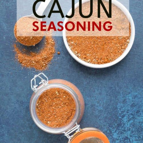 Homemade Cajun Seasoning - Recipe