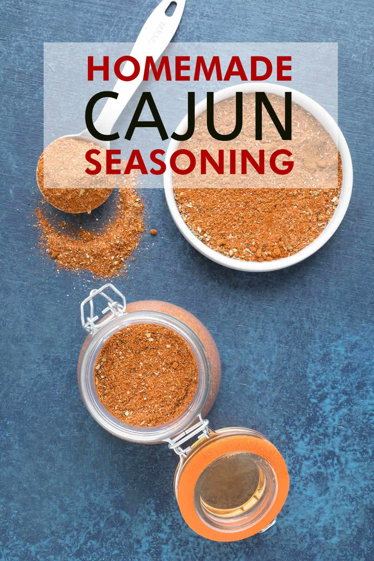 Homemade Cajun Seasoning - Recipe