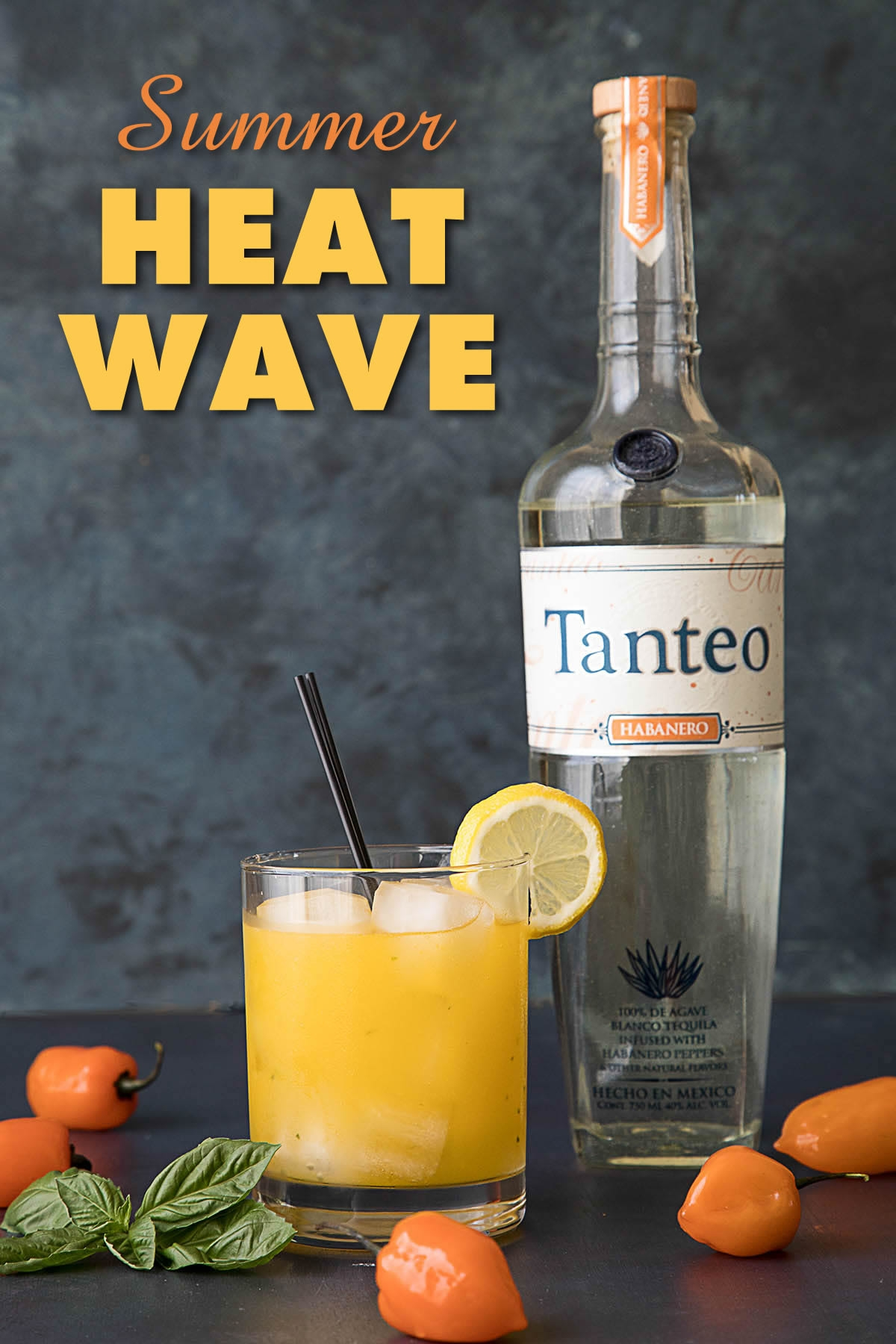The Summer Heat Wave – A Fiery Mango-Habanero Cocktail