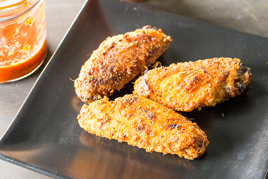 5-Alarm Superhot Chicken Wings - Recipe